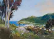 Avalon Catalina painting - Avalon Harbor oil painting