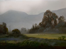 Foggy Morning Fields, Santa Paula