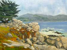 Pebble Beach Afternoon Monterey Peninsula