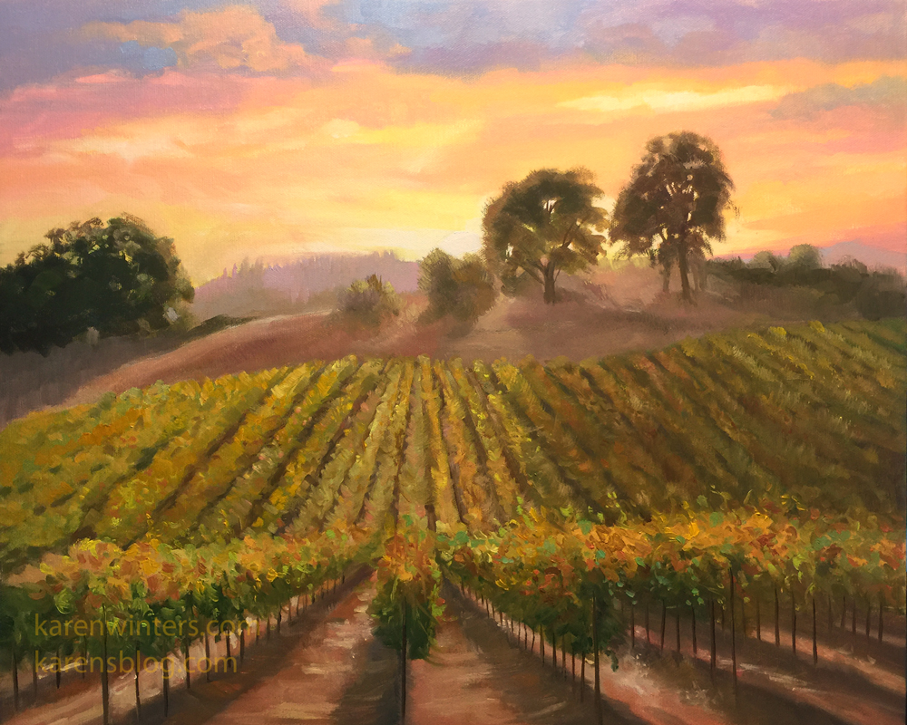 Karen Winters California Impressionist Oil Paintings