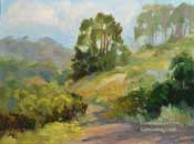 Will Rogers Hillside Original Oil Painting