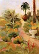 Arlington Gardens Oil Painting Pasadena
