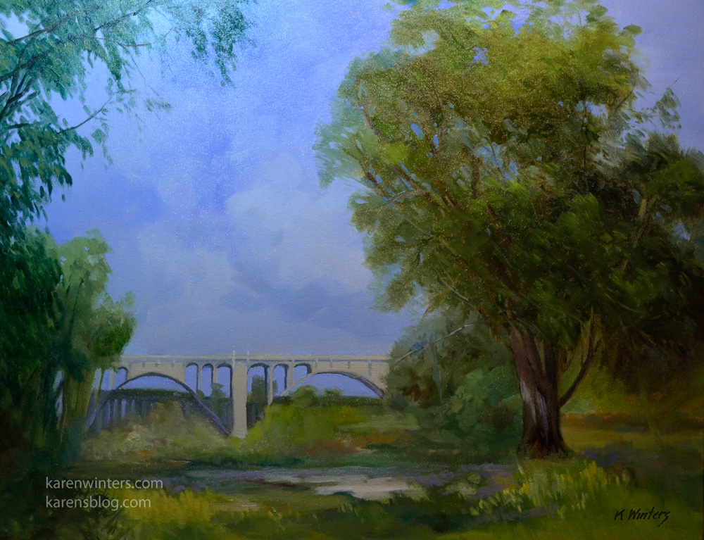 Pasadena California Landscape Paintings And Plein Air