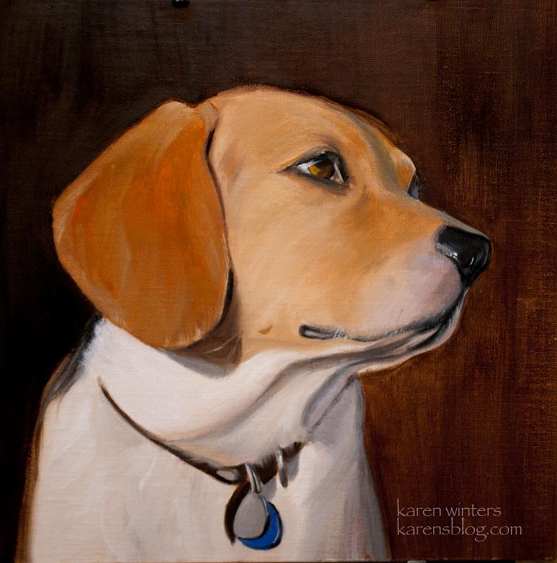 Animal Wildlife Pet Paintings and Portraits by Karen Winters