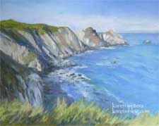 Big Sur Oil Painting