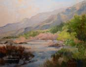 Canyon vision -Eaton Canyon trails oil painting