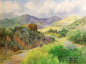 Claremont Wilderness Park, Claremont, California oil painting