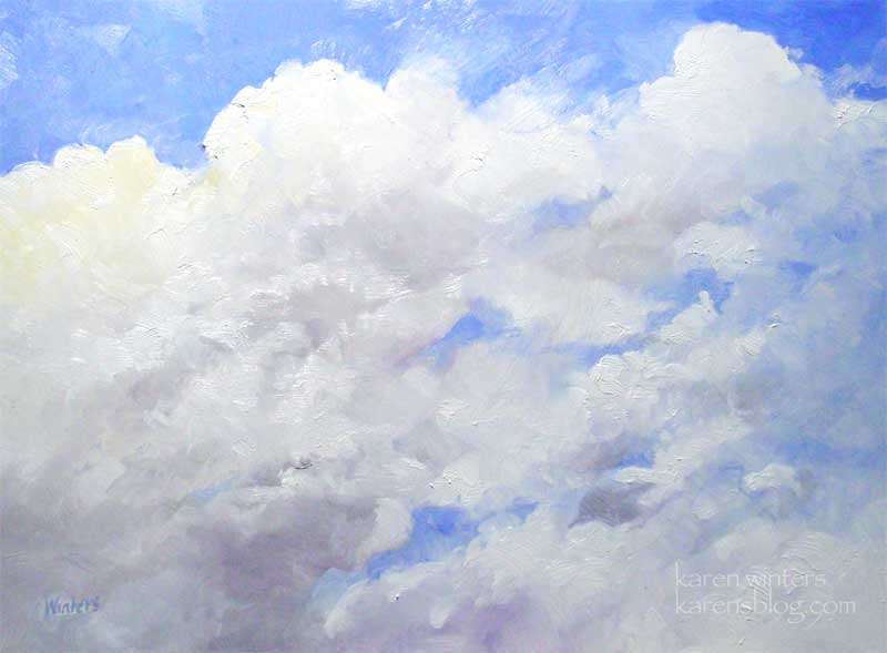 How To Paint Clouds. How To Paint Clouds Watercolor