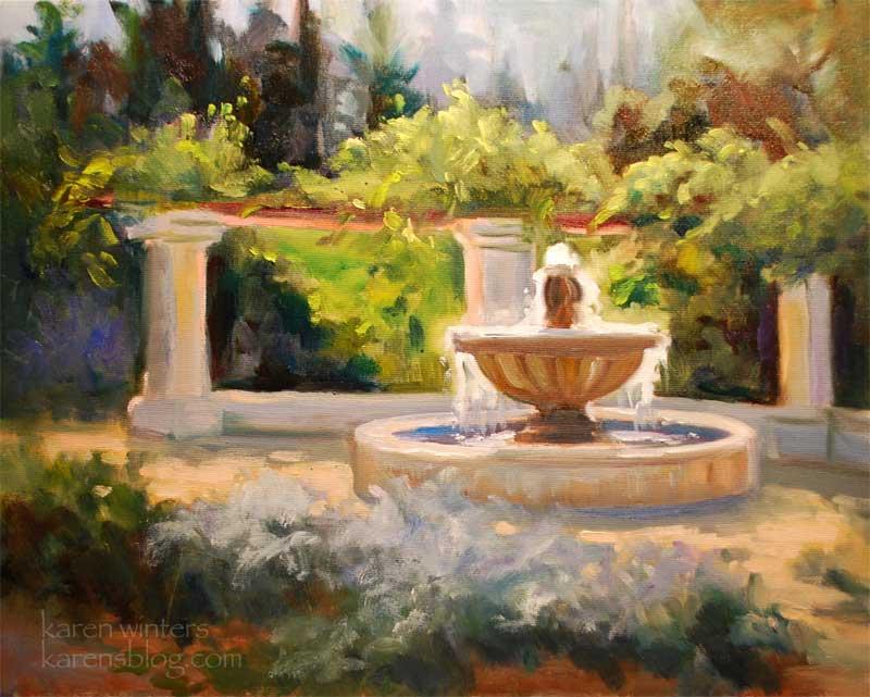 Pasadena California Landscape Paintings And Plein Air
