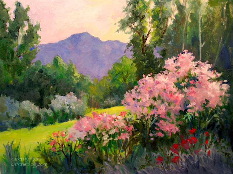 descanso gardens paintings a gallery of art inspired by