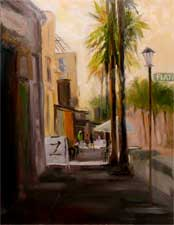 El Molino Afternoon - Playhouse District oil painting SOLD