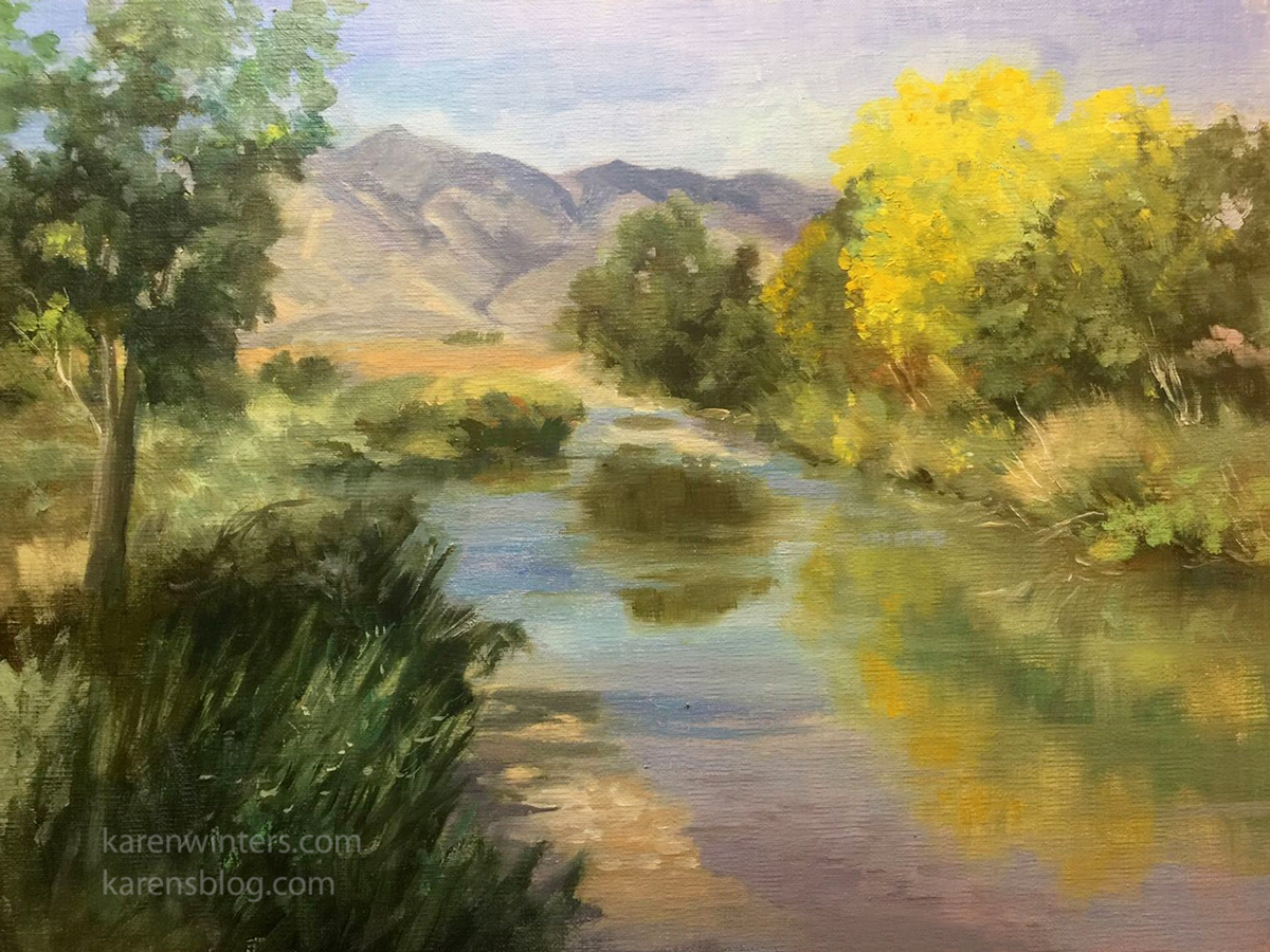 California Landscape Paintings And Plein Air Paintings By