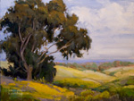 Gaviota Springtime oil painting - California Art Club Gold Medal Show 2011