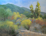 Eaton Canyon Spring Landscape Oil Painting