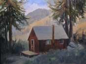 Honeymoon Cabin at Mineral King