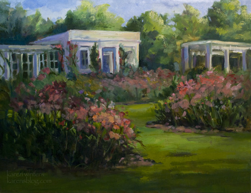 Huntington Gardens Tea Room And Rose Garden San Marino