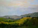 In the Vineyard Hills Oil painting by Karen Winters