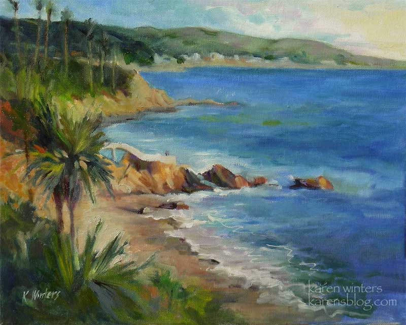 Karen Winters California Seascapes Marine And Plein Air Paintings