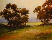 One Summer Morning Oil Painting Malibu