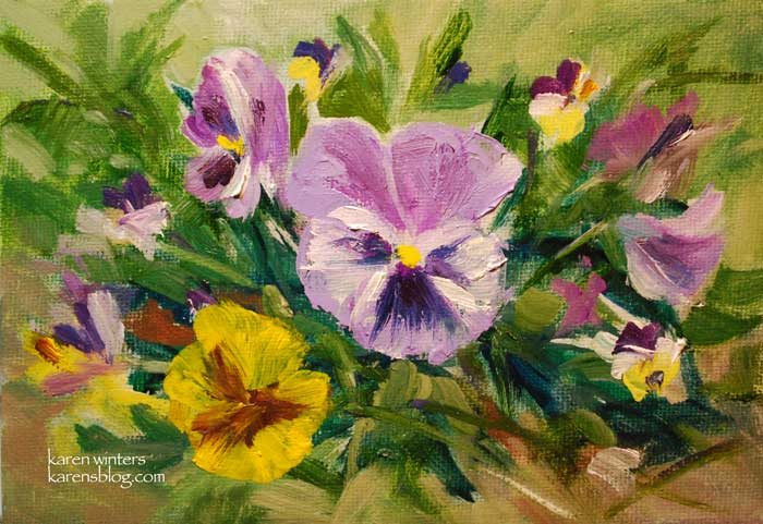Botanical Floral Flower Paintings By California