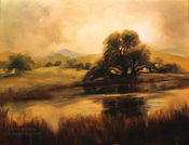 Return to Golden Pond oil painting - On Golden Pond art