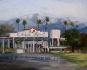 Rose Bowl Painting Pasadena New Years Day