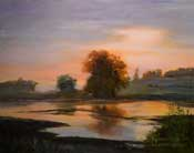 Song of Still Waters - Devereux Slough Santa Barbara art oil painting