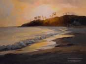 Sunset on Laguna Main Beach