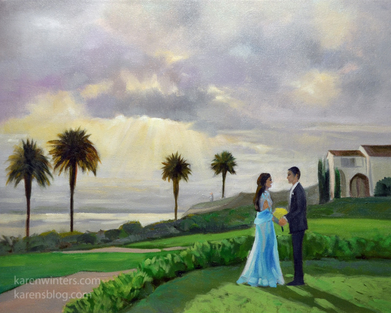 wedding paintings live event painter live event