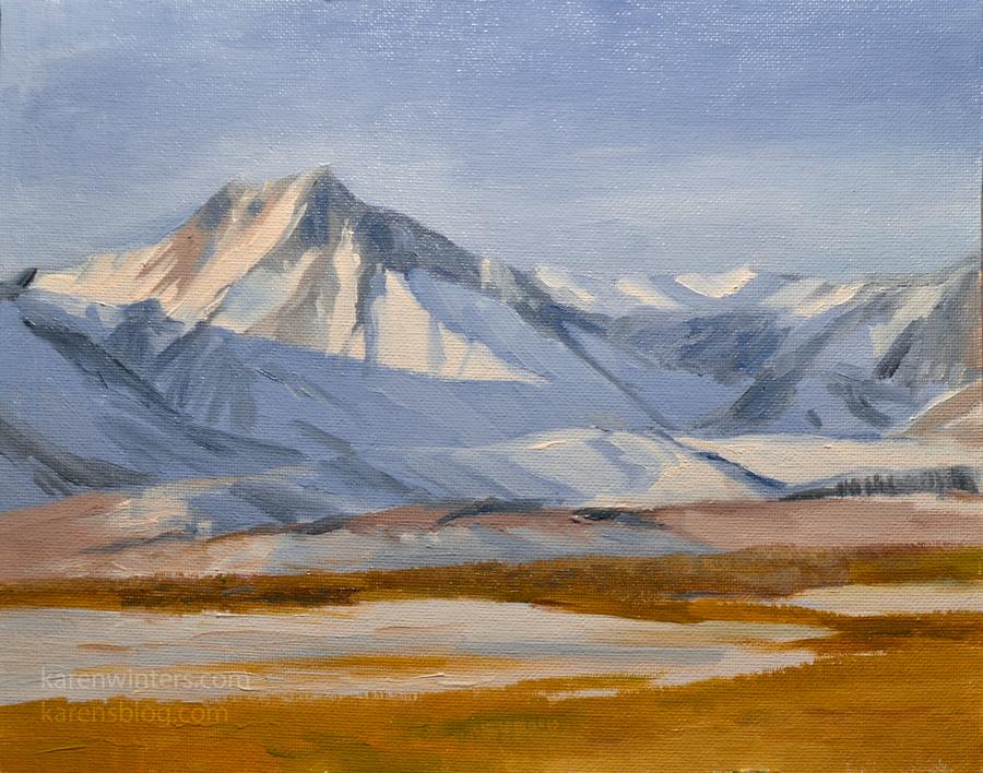 Sierra paintings sierra nevada paintings high sierra for Sierra valley